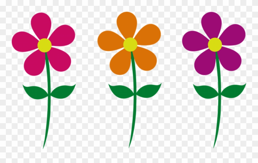Images of flowers spring. Flower clipart cartoon
