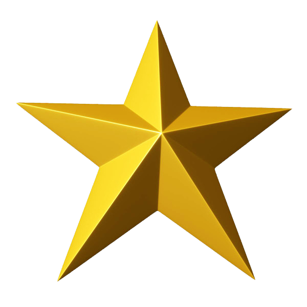 Hollywood clipart golden star.  collection of gold