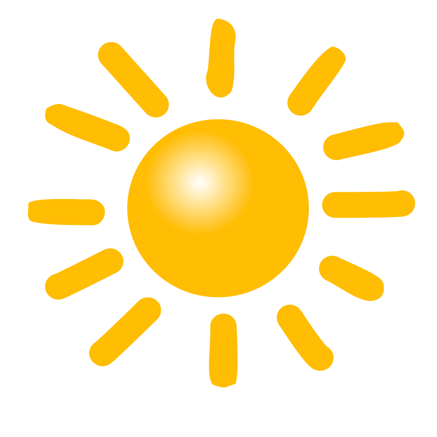 Wednesday clipart sunny.  collection of sun