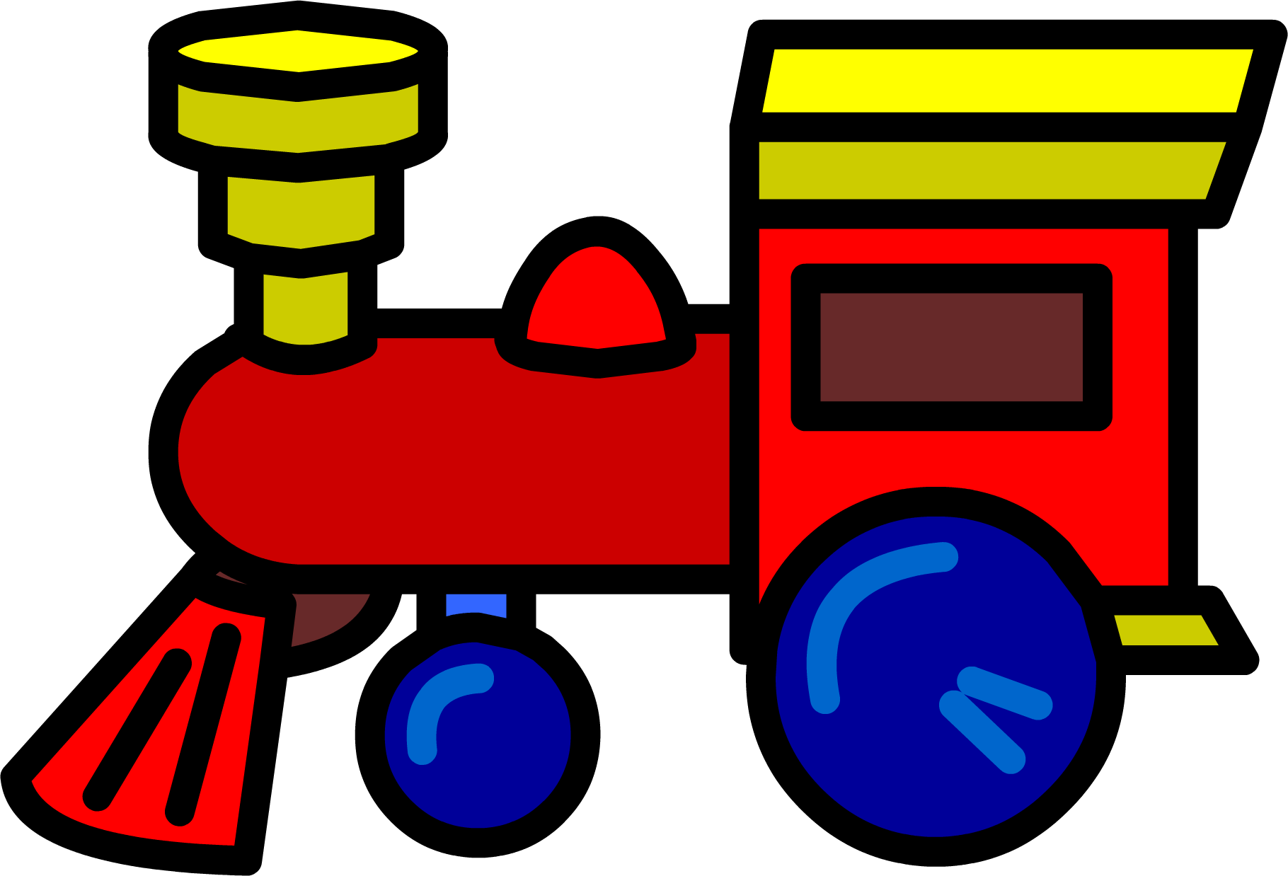Image toy train png. Engine clipart tran