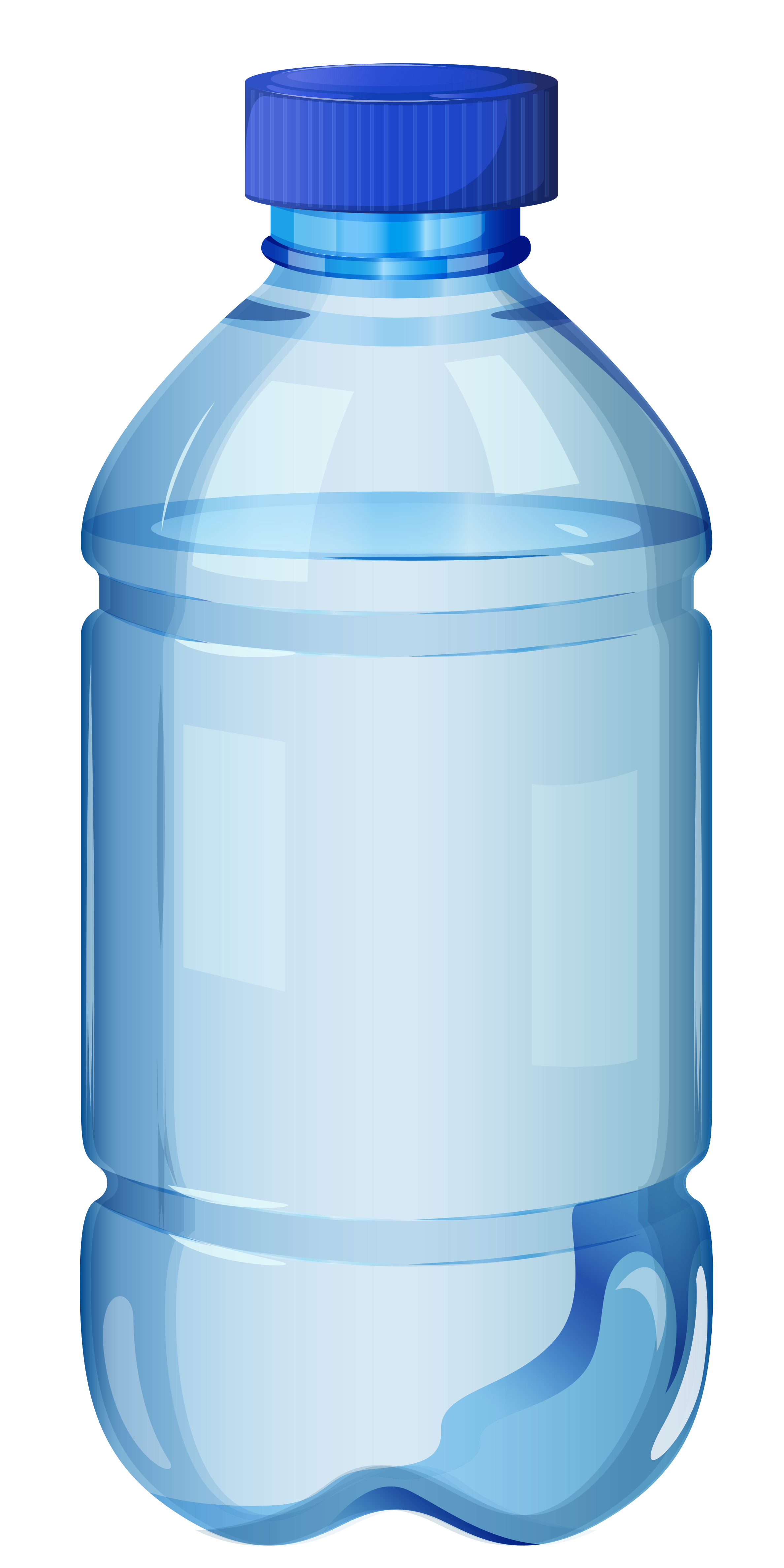 Small mineral clipart image. Bottle of water png