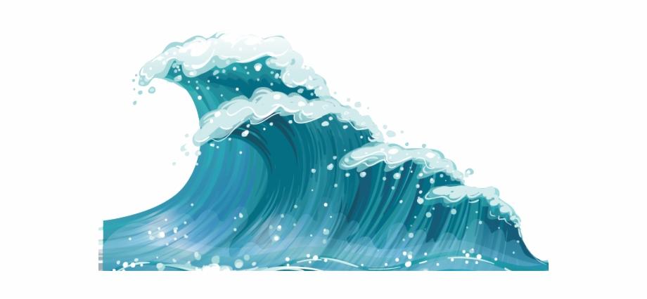Waves clipart wind wave. Sea clip art transparent