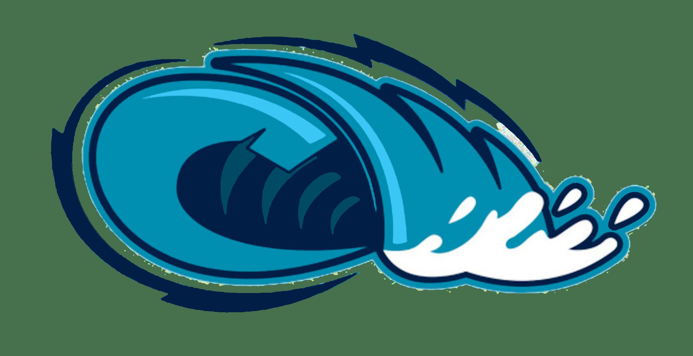 Waves clipart sea wave. Sticker transparent png stickpng