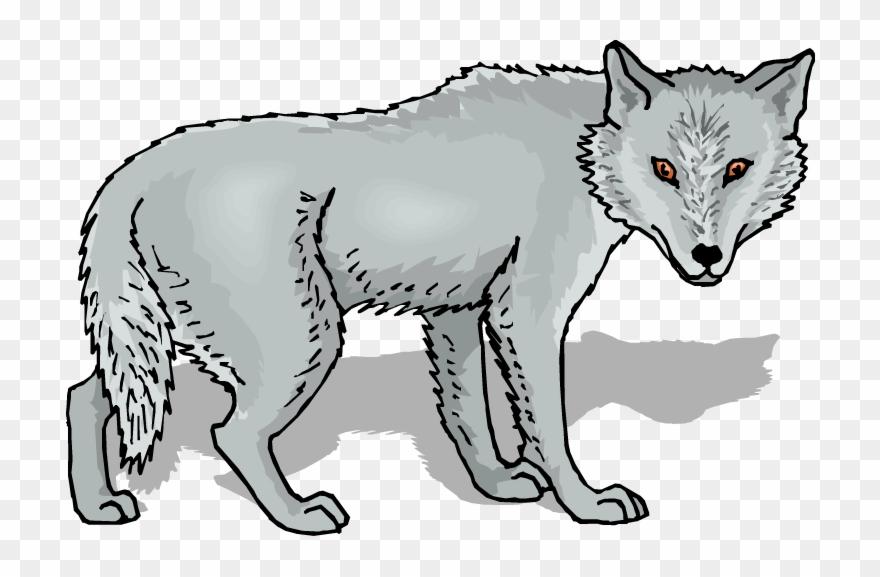 Friendly grey png download. Wolf clipart werewolf