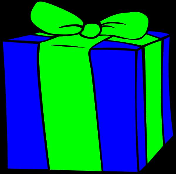 Birthday present kid clipartix. Gift clipart printable