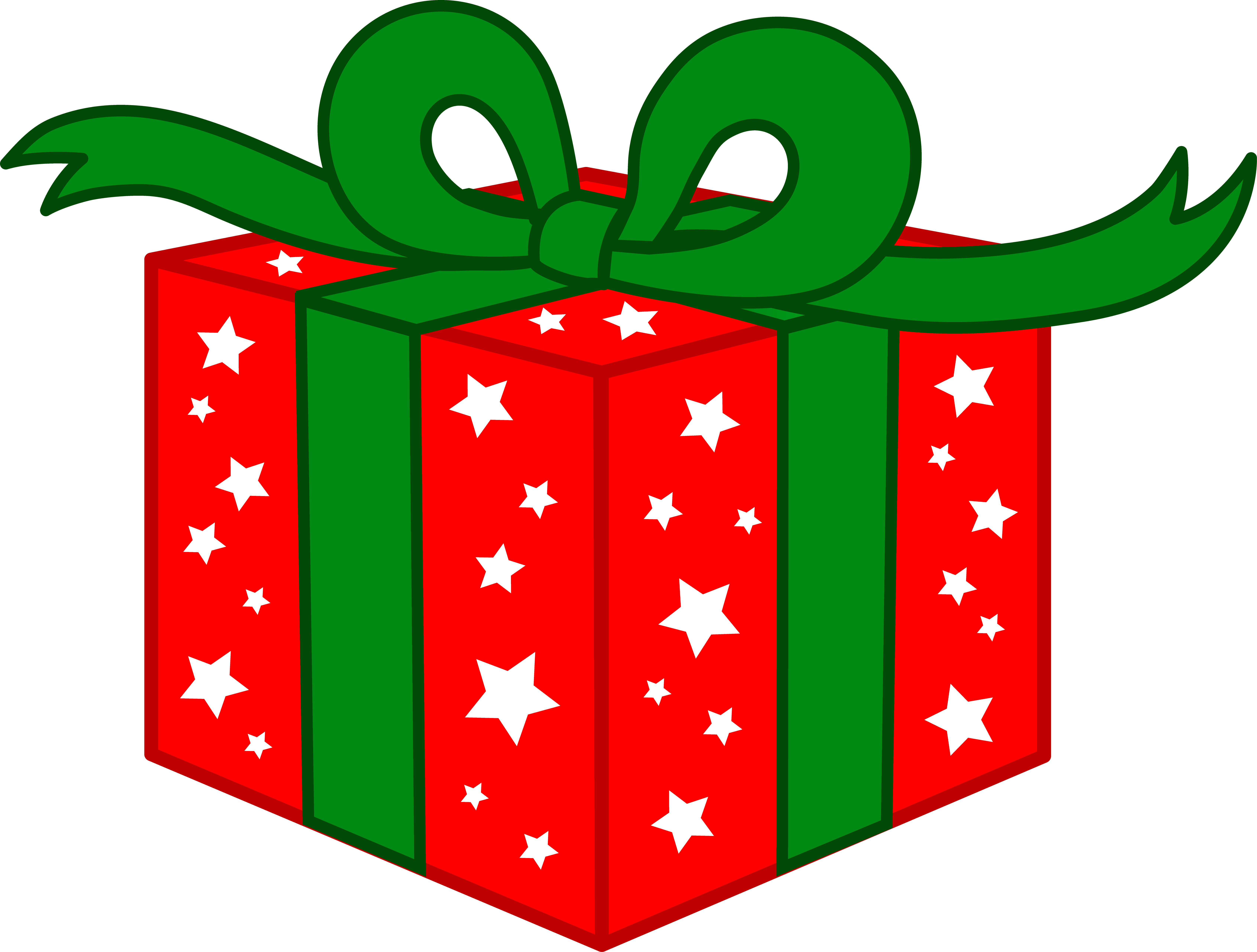 Clipart present. Christmas panda free images