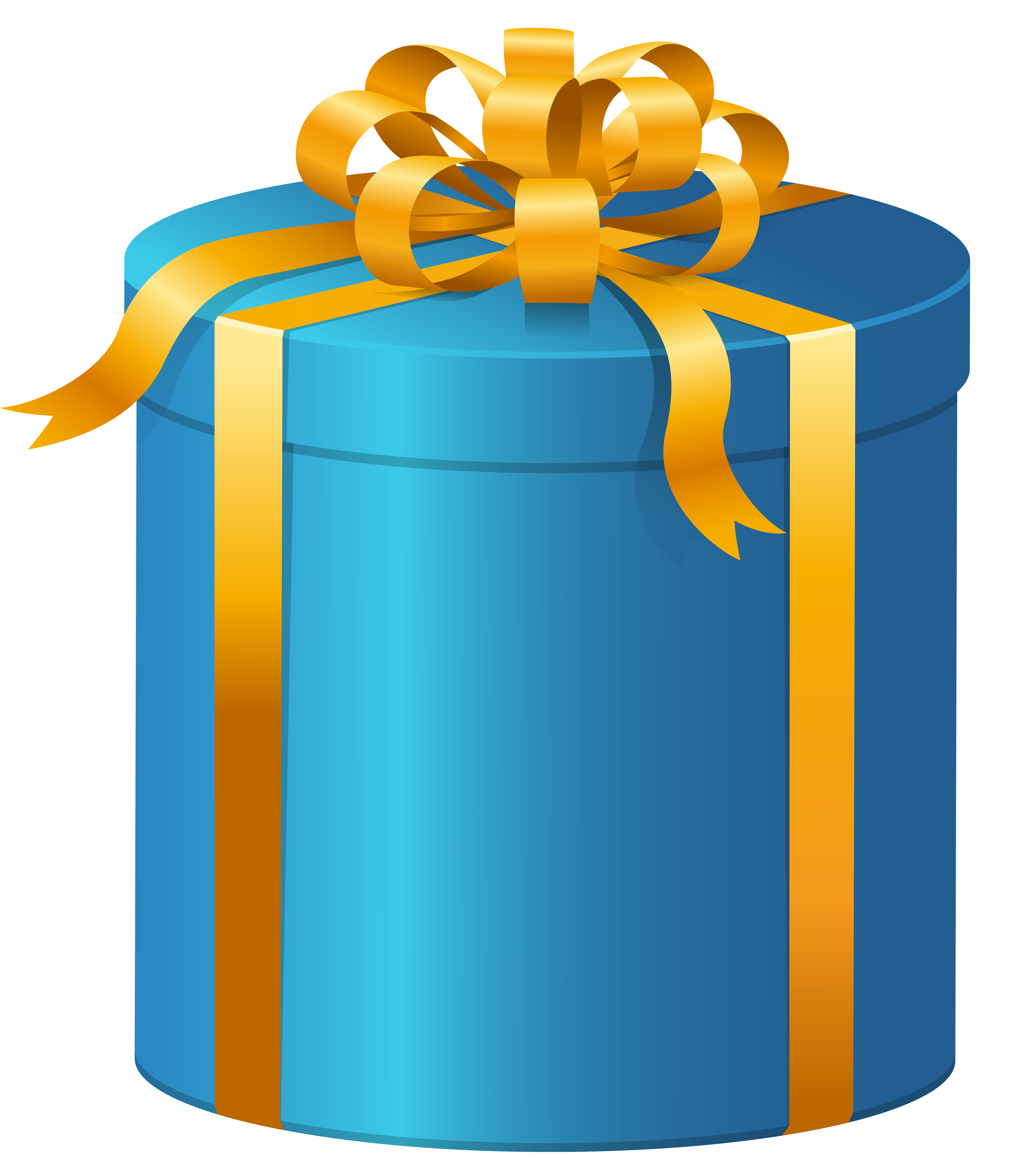 Gift clipart stacked present. Blue box png clip