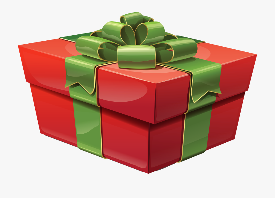 Trend free christmas boxes. Gift clipart big present