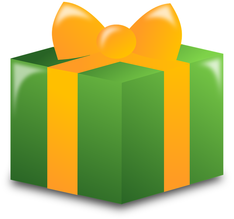 Gift clipart big present. Wrapped graphics illustrations free