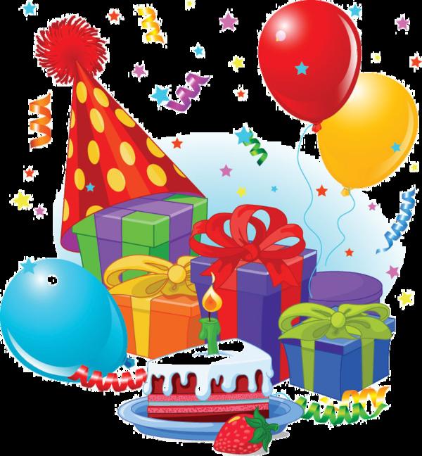 Happy joyeux anniversaire pinterest. Clipart present birthday stuff