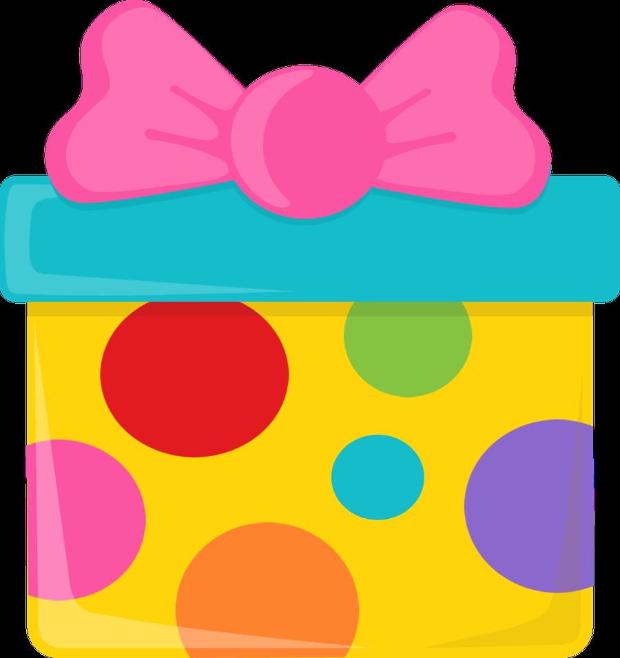 Clipart present birthday stuff. Danielle m daniellemoraesfalcao minus