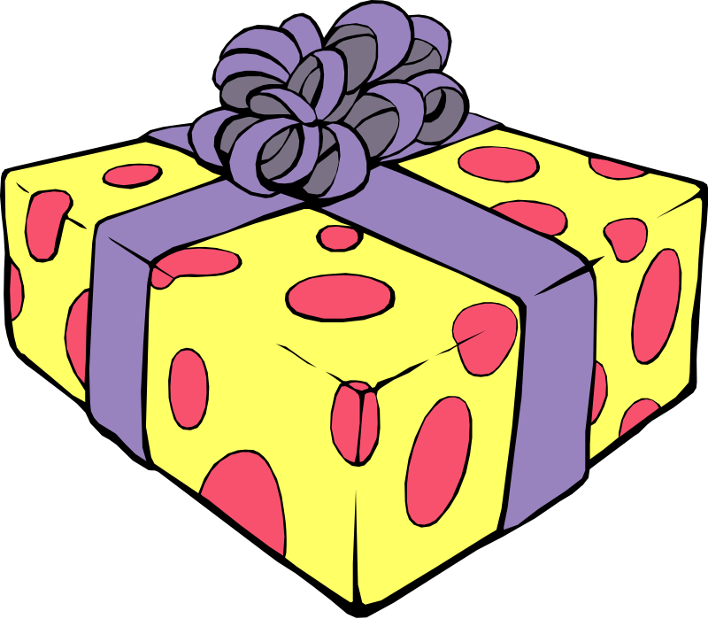 Gift clipart special gift. Cute present cliparts free