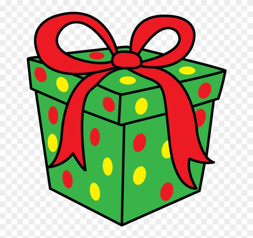 How to draw a. Clipart present easy