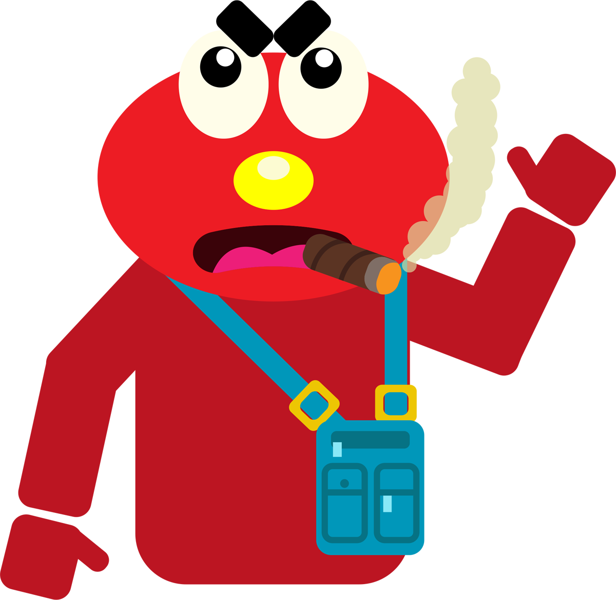 emoji clipart present