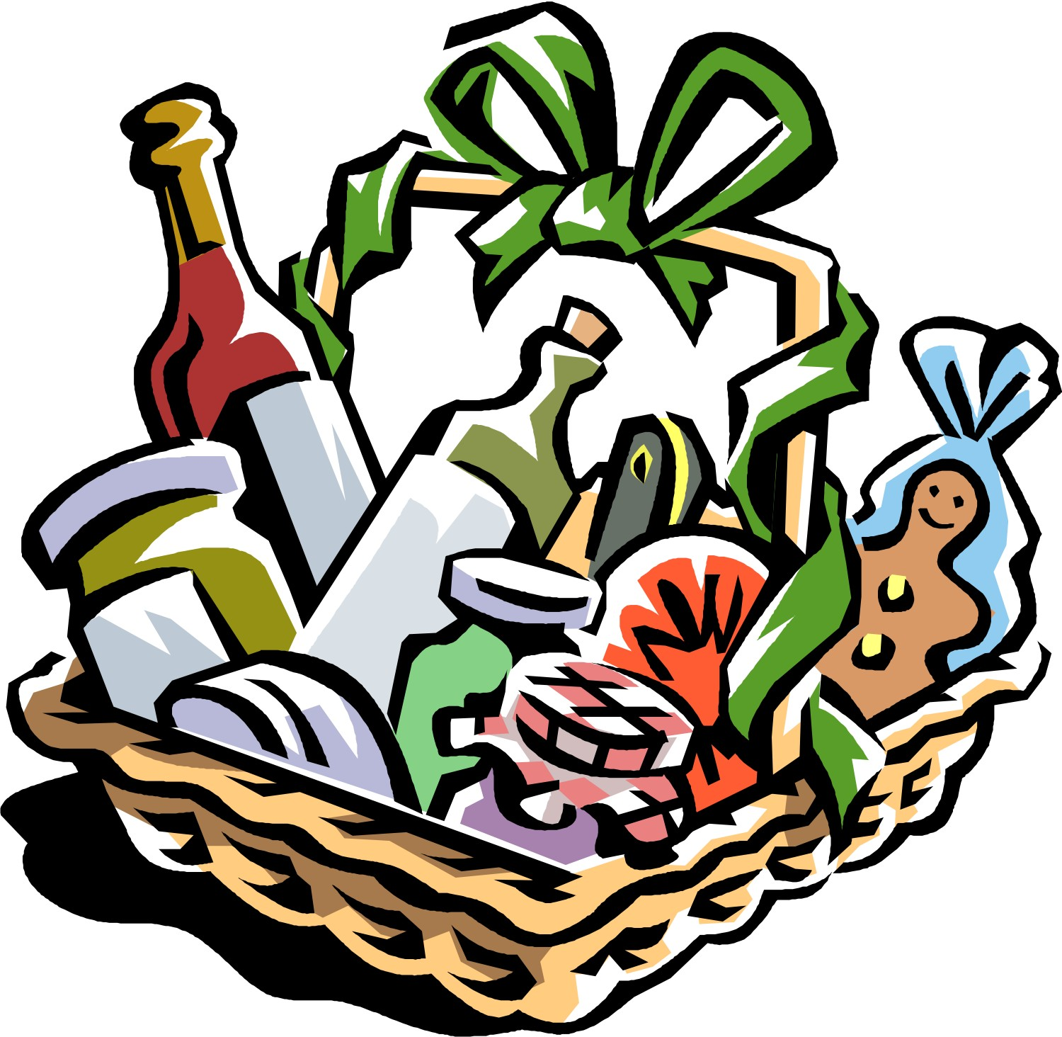 Gift clipart prize basket. Free charity cliparts download