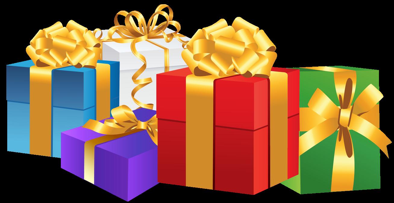 Clipart present gift exchange. Virtuarte blog step make