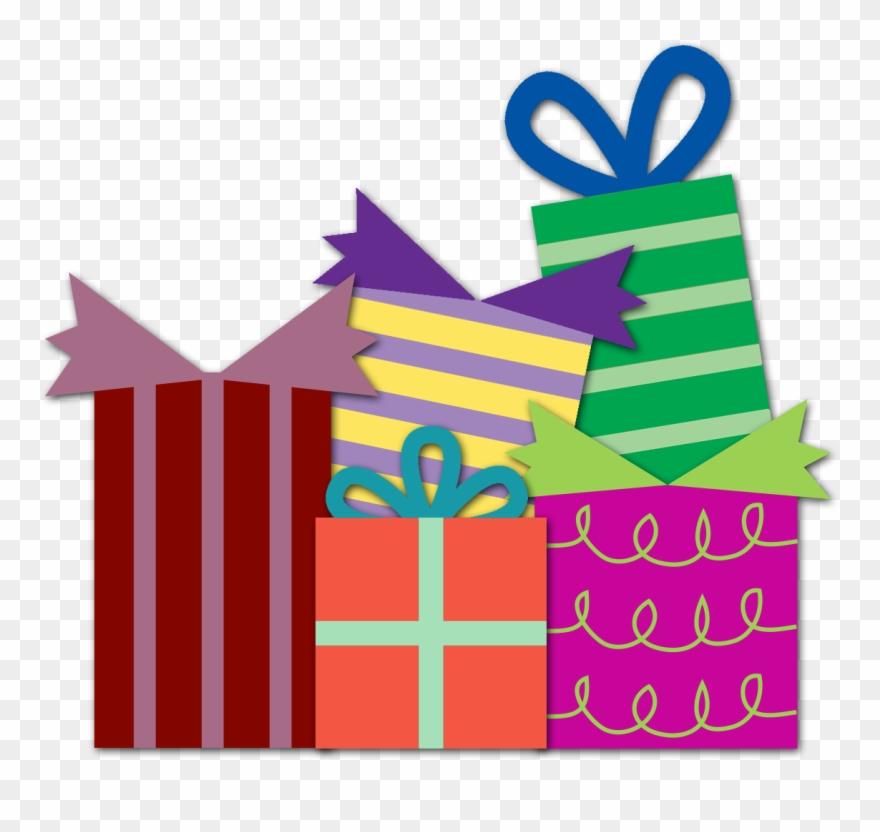 Gift clipart happy birthday. Presents transparent