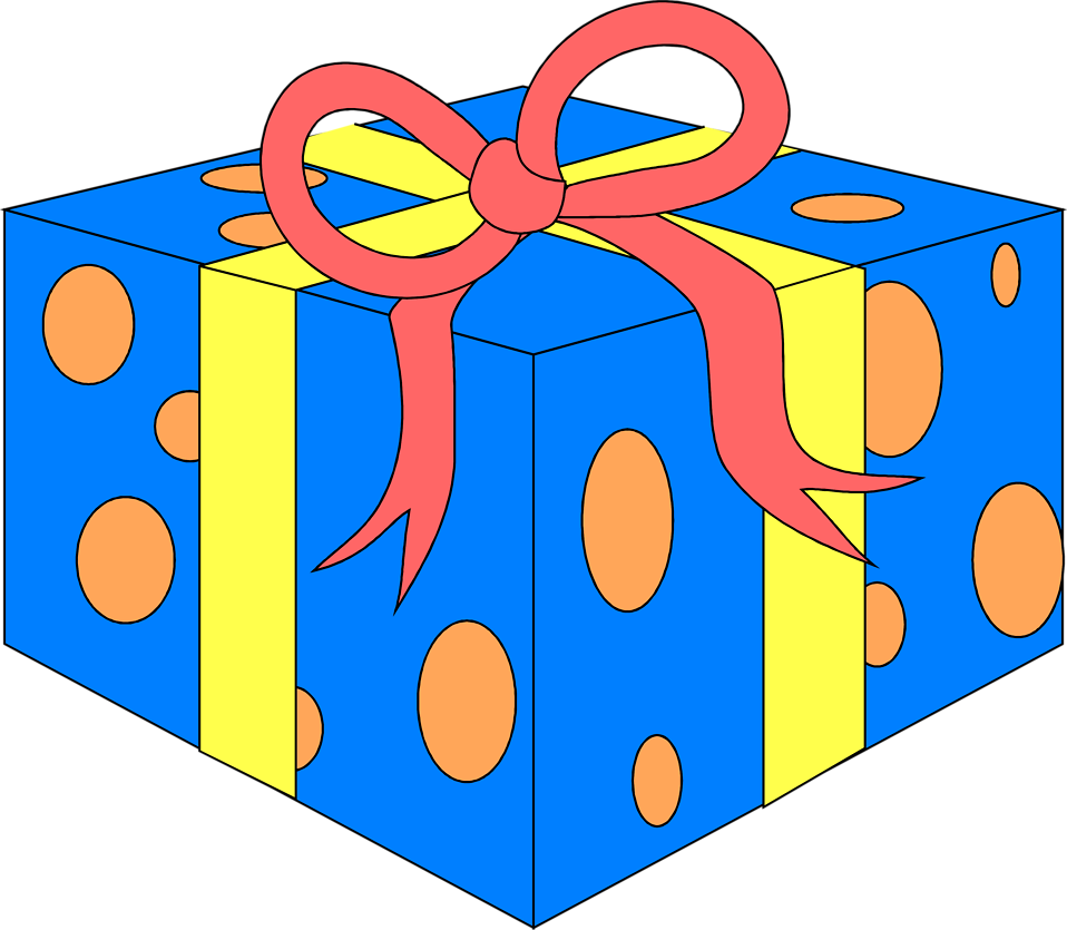 Free stock photo of. Clipart present illustration