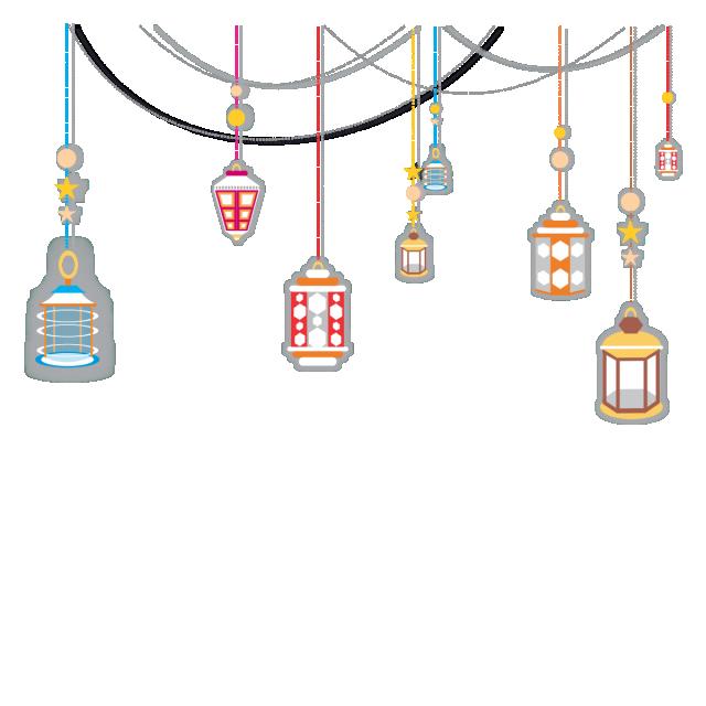 Idea clipart night light. Png lamp ramadan kareem