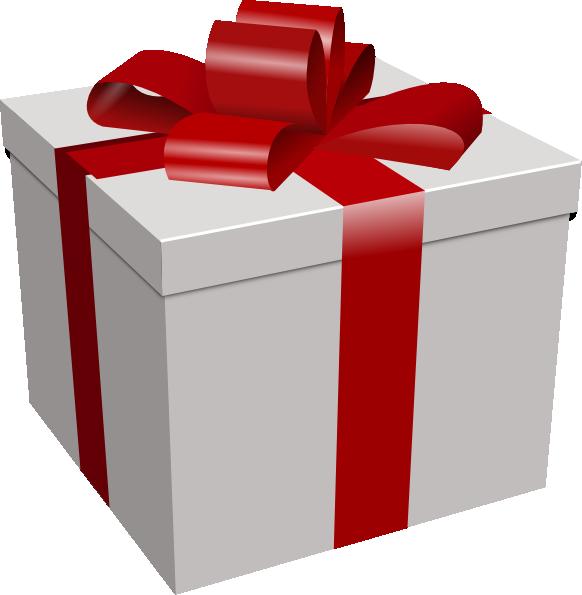 Clipart present large. Gift box clip art