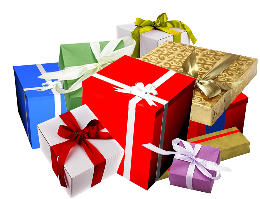 Clipart present lot presents. Lots of birthday ideas