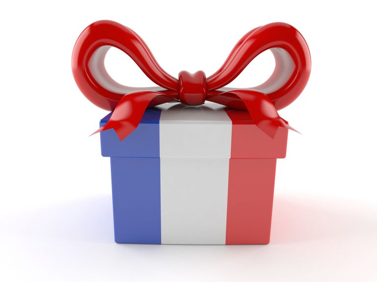Eight great gift ideas. Clipart present lot presents