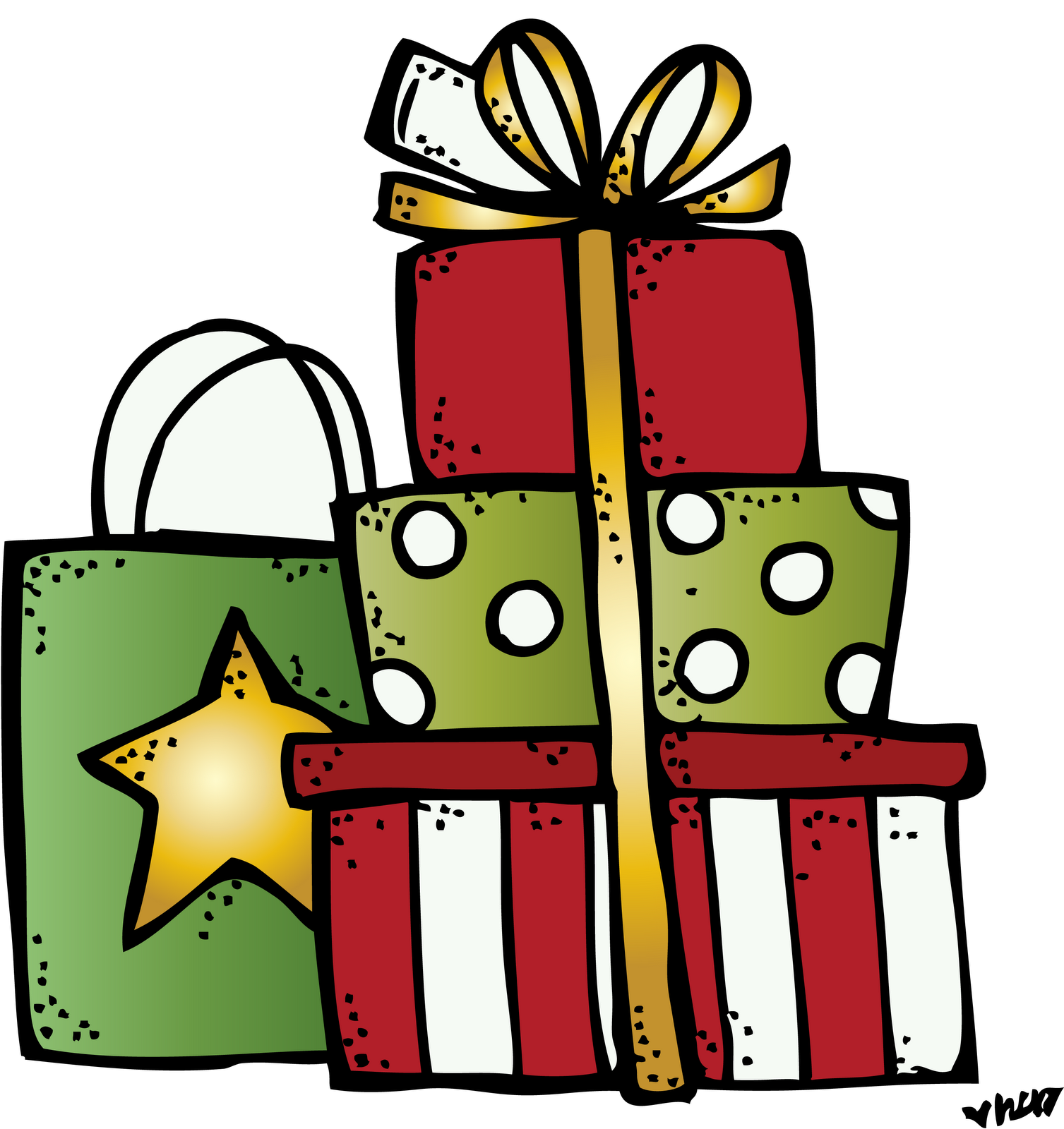 Image result for presents. Clipart present melonheadz
