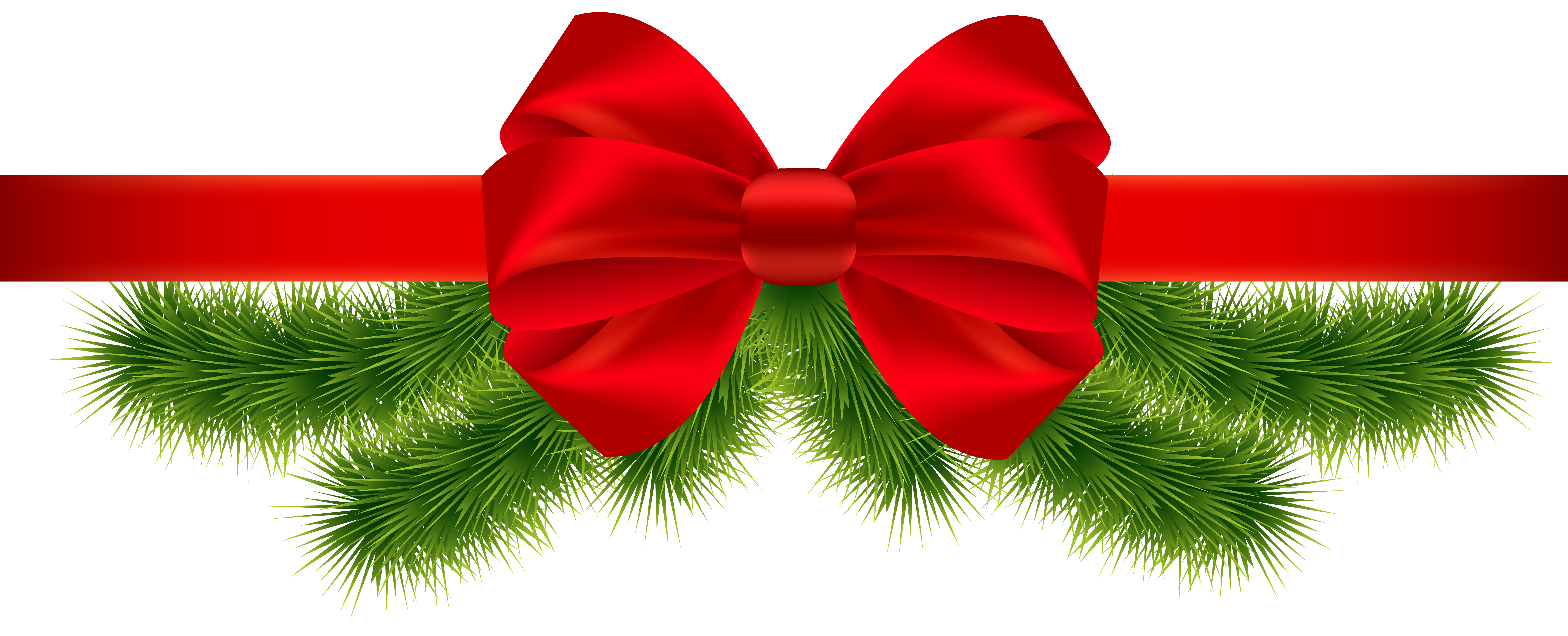 Christmas transparent png desenler. Holly clipart ribbon