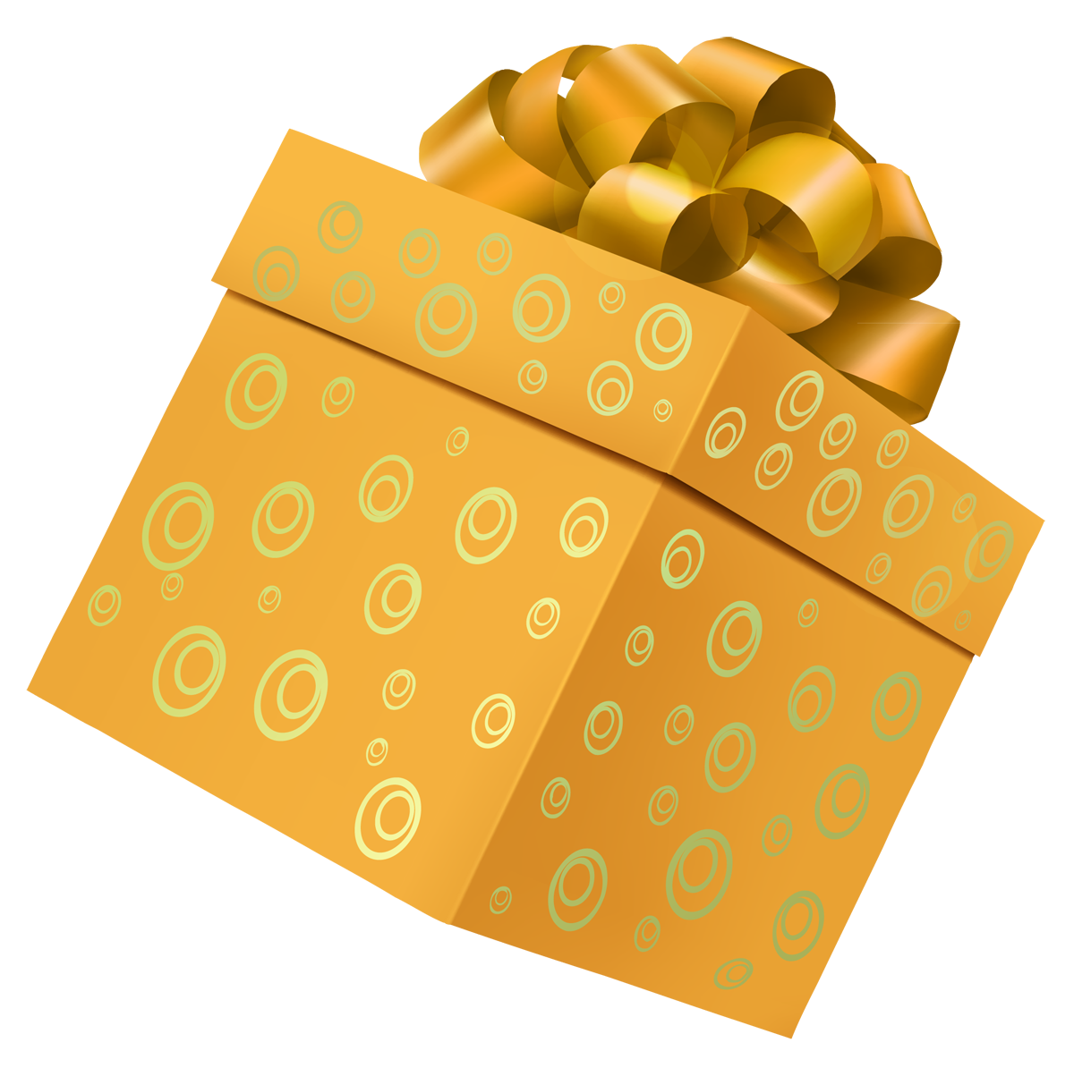 Gift clipart yellow. Box png picture gallery