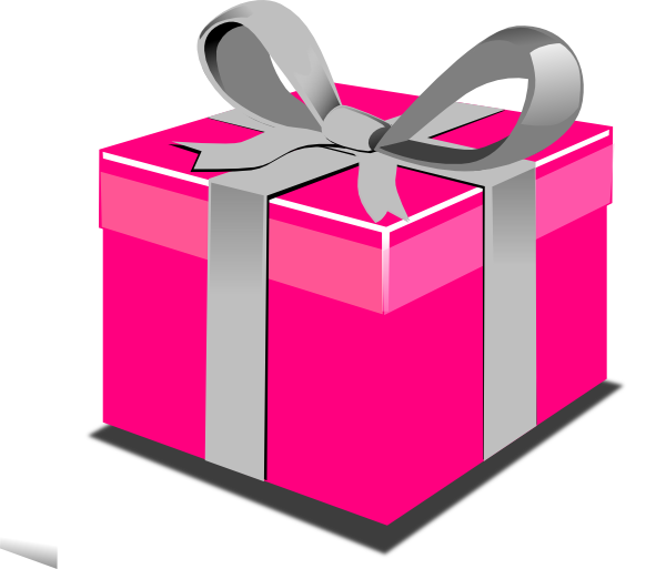 Pass my on twitter. Clipart present parcel