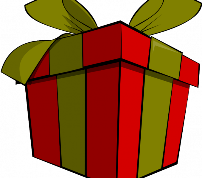 Clipart present parcel. Christmas free images presents