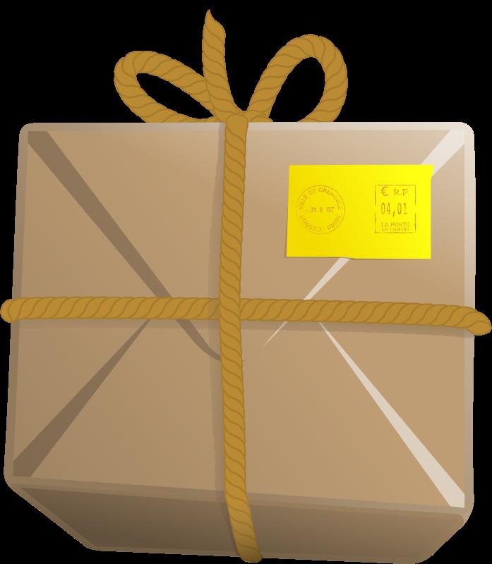 Gift clipart parcel. Panda free images parcelclipart