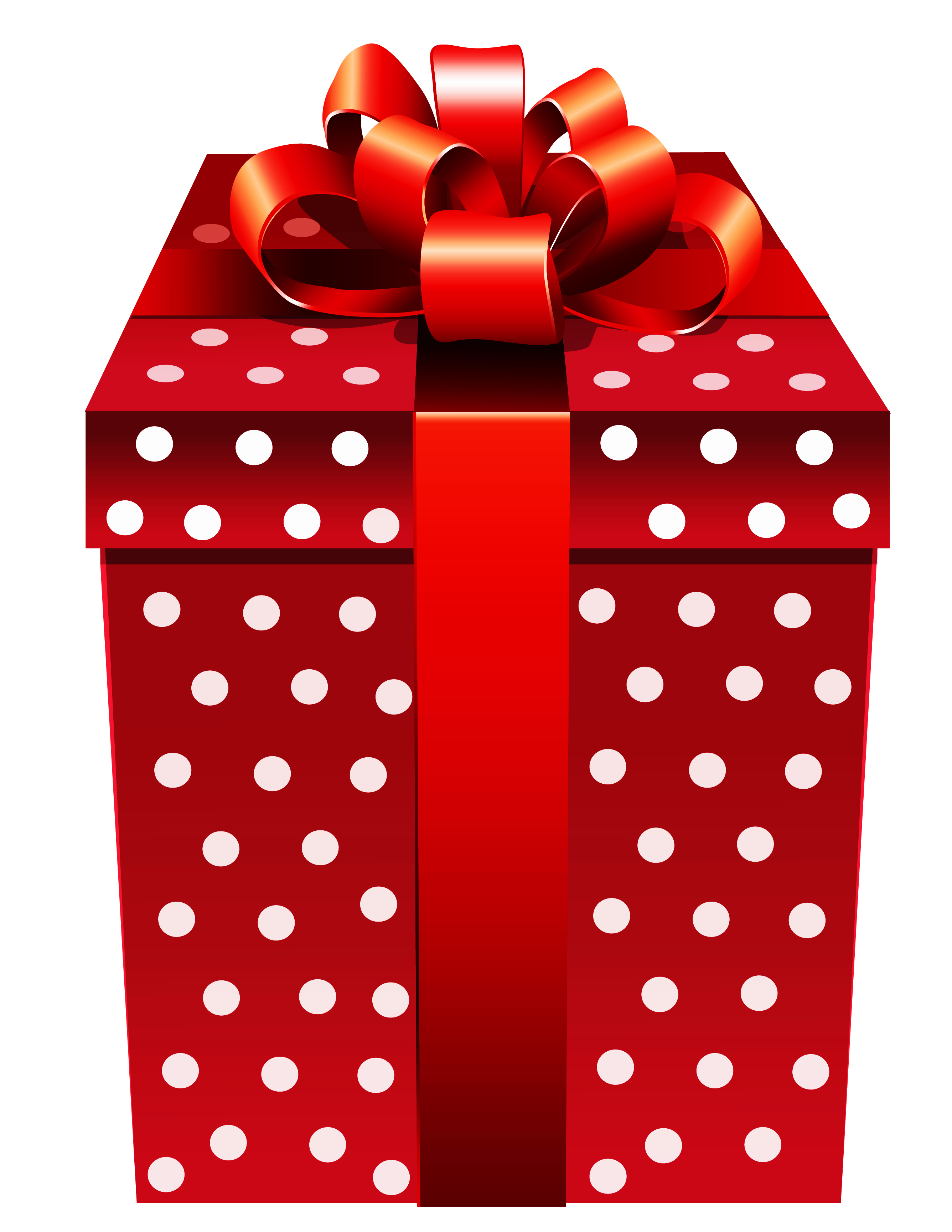 Red dotted png gallery. Clipart present polka dot