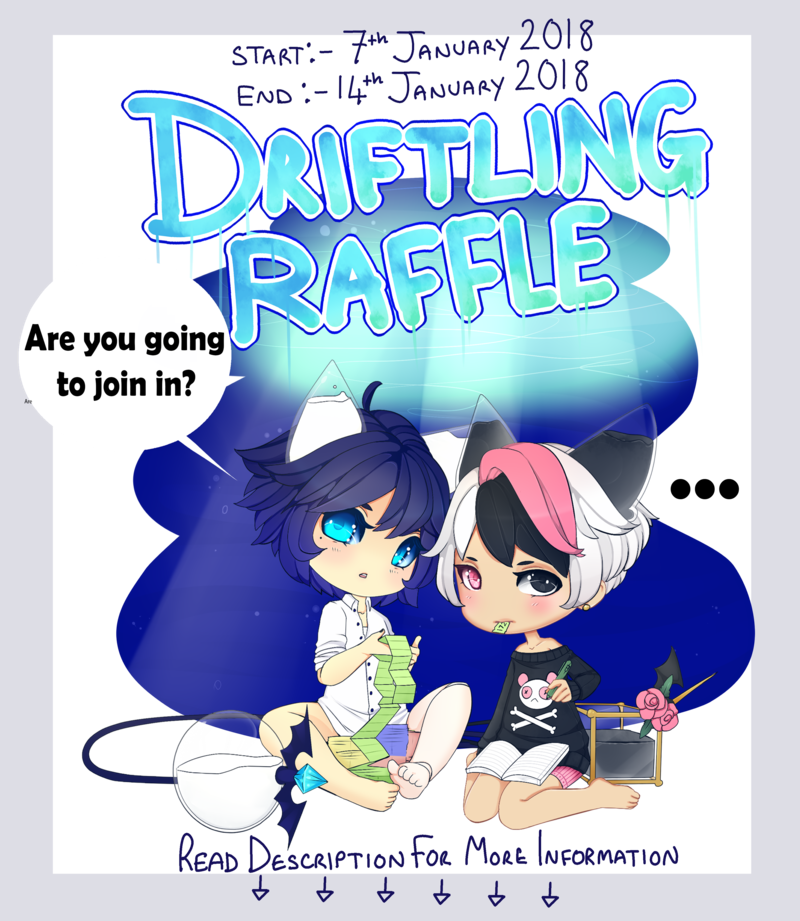 Closed driftling free by. Raffle clipart mini