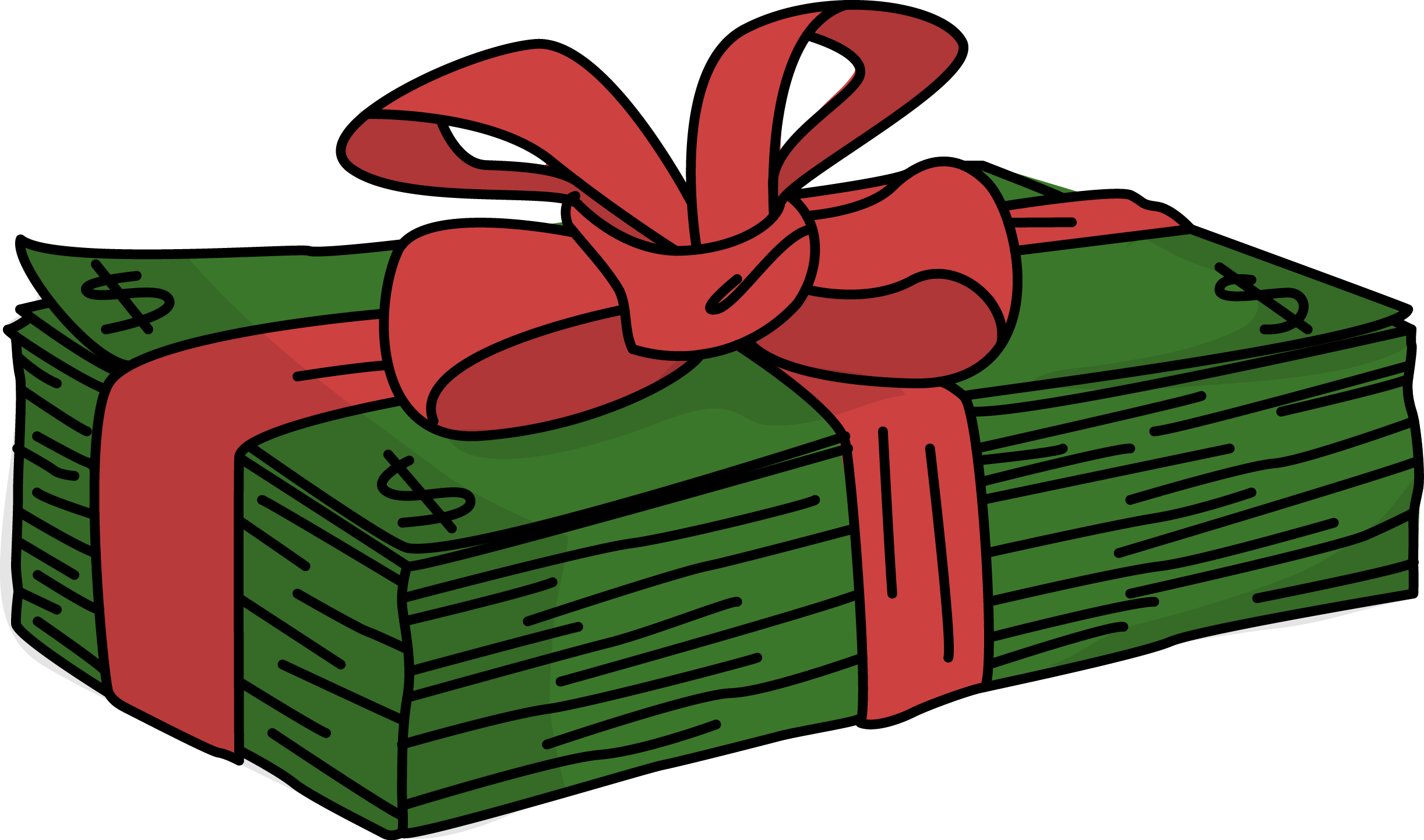 Image for free money. Gift clipart clip art