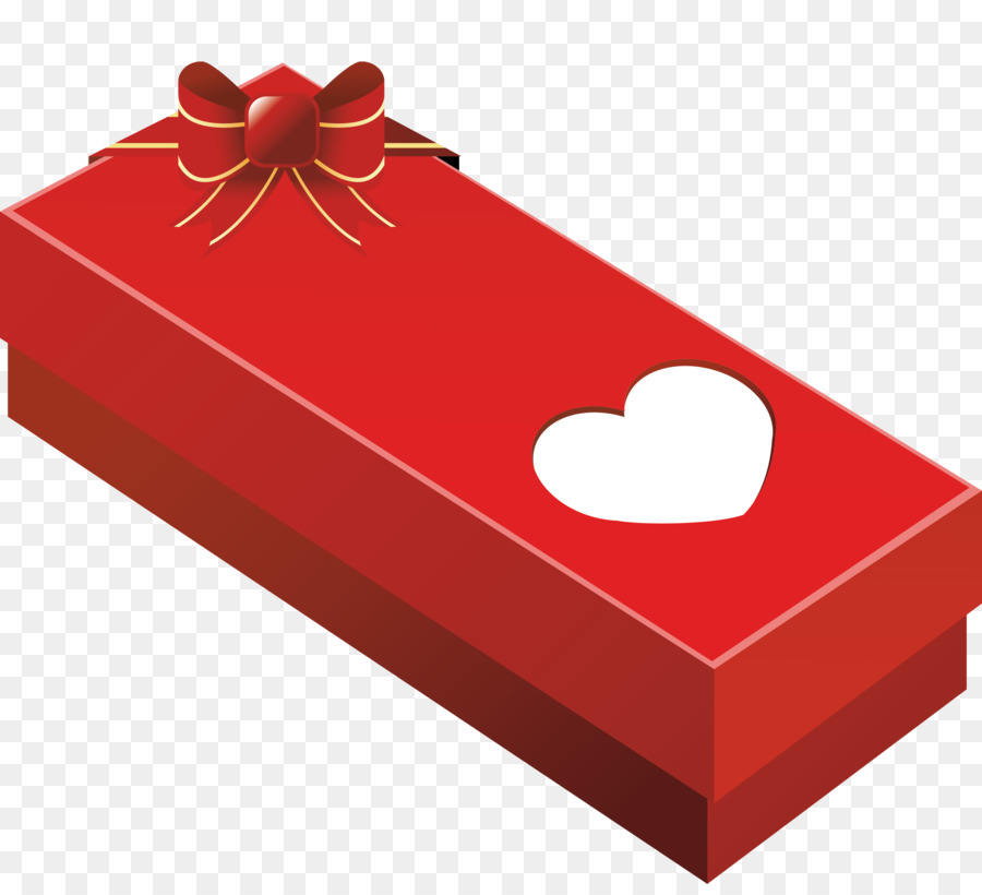 Gift clipart rectangle. Box heart red transparent