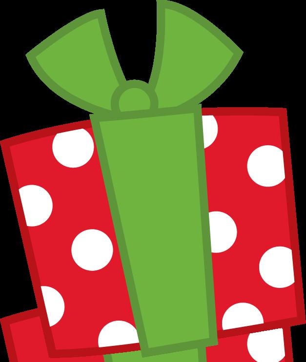 Navidad ideas para pinterest. Clipart present regalo