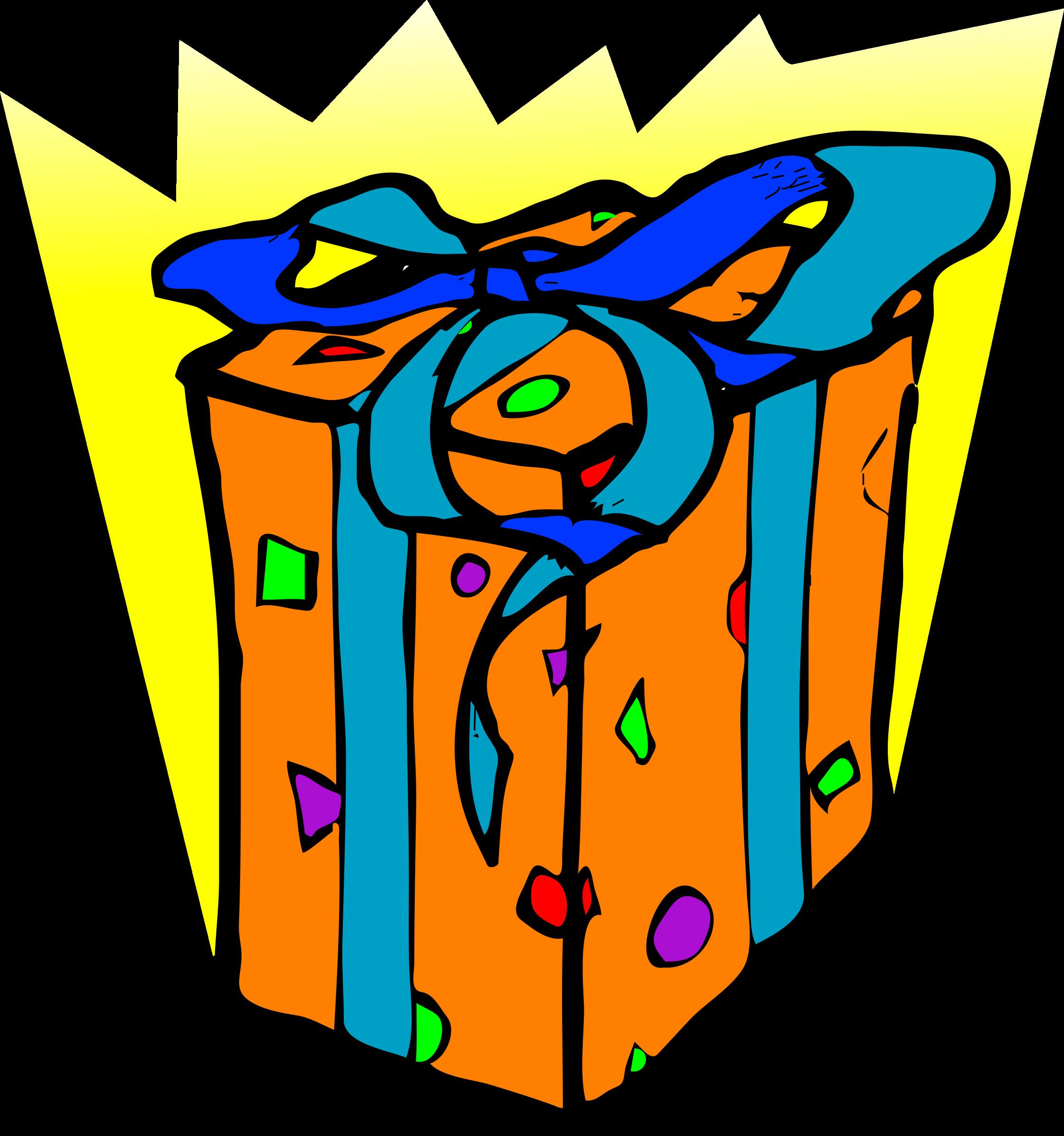 Gift clipart regalo. Architetto pacco big image