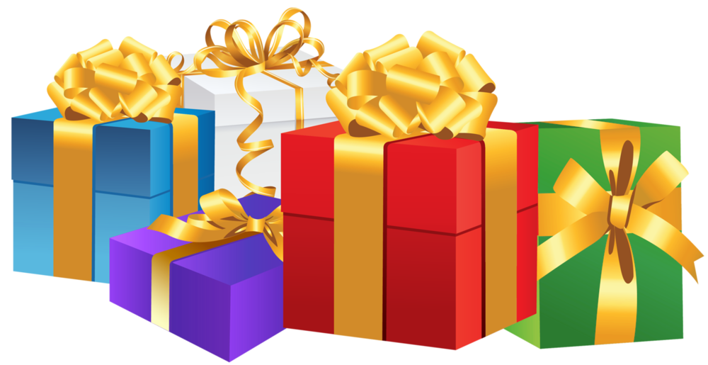 Is coming to the. Gifts clipart santa claus