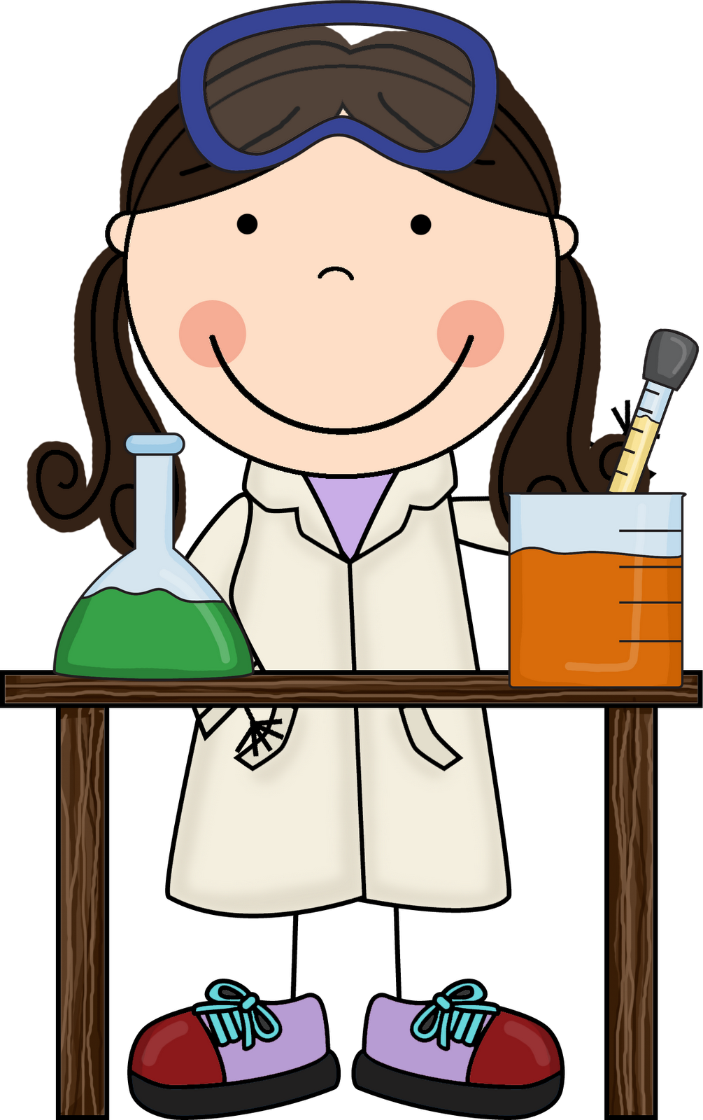 Little miss hypothesis looks. Learn clipart girl