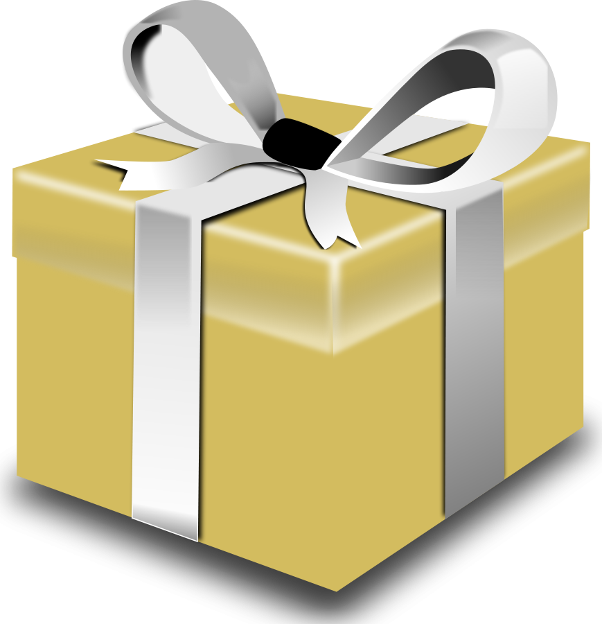 Clipart present small present.  collection of transparent