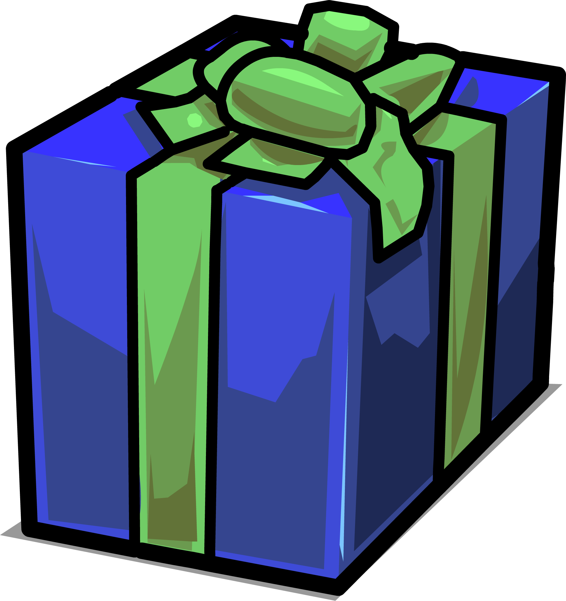 Gift clipart gift item. Presents club penguin wiki