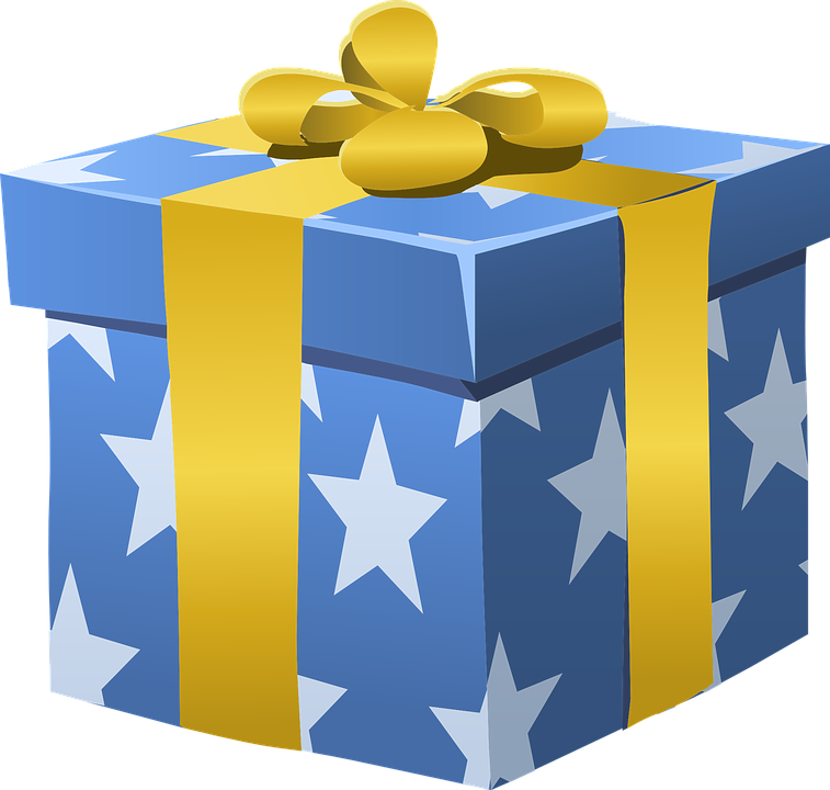 Box graphics illustrations free. Clipart present special gift