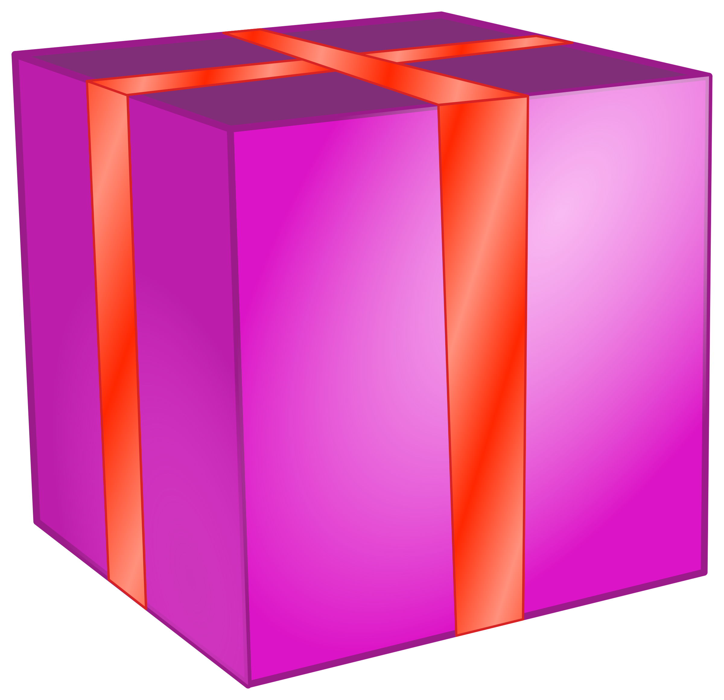 Box big image png. Square clipart square gift