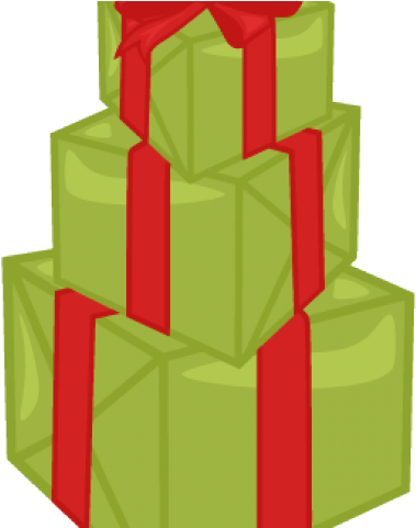 Clipart present stacked present. Birthday christmas stack