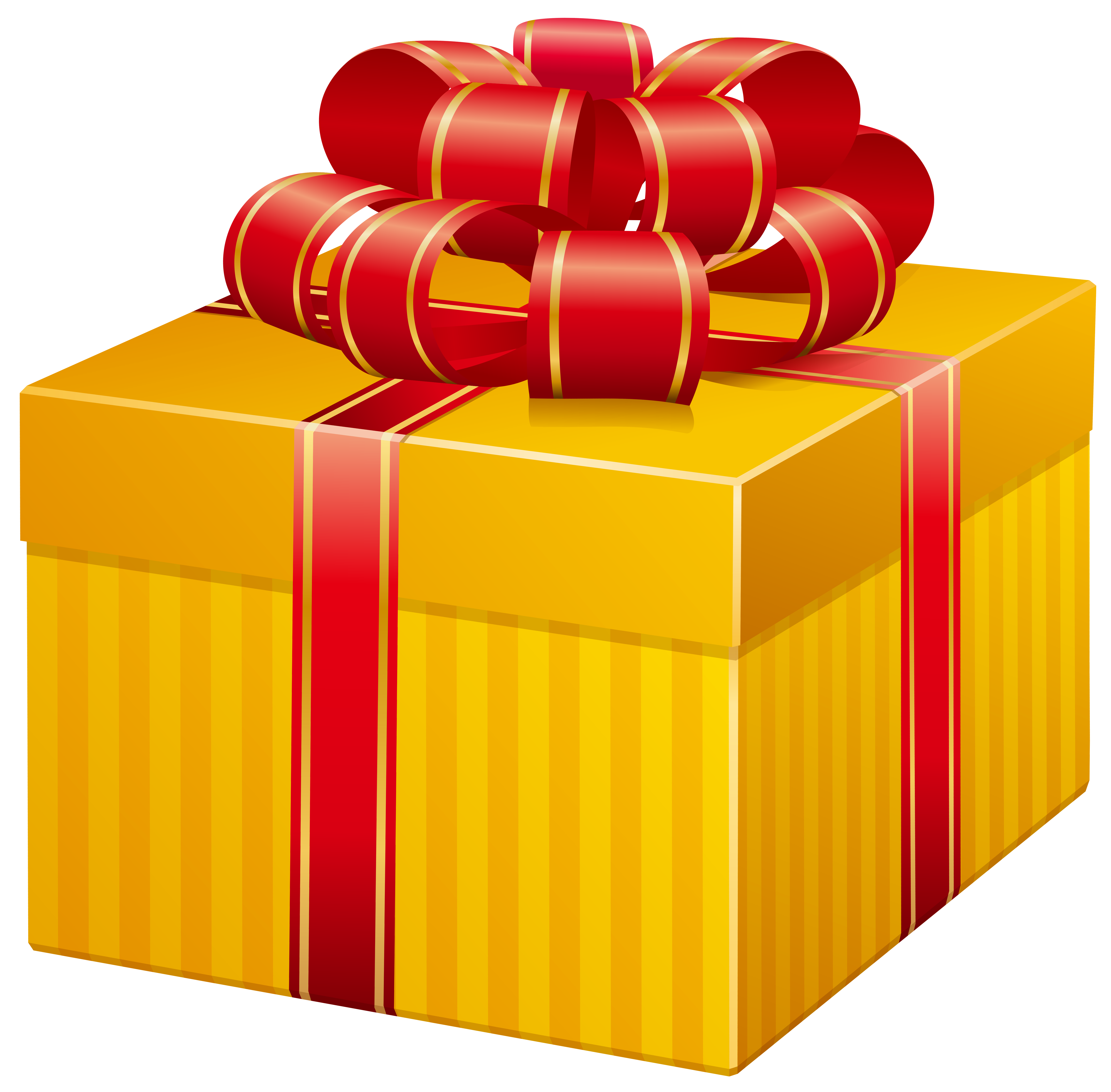 Yellow box png clip. Clipart present tall