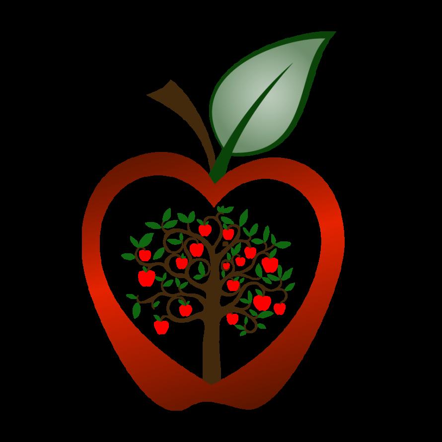 Clipart present teacher gift. Apple puns for teachers