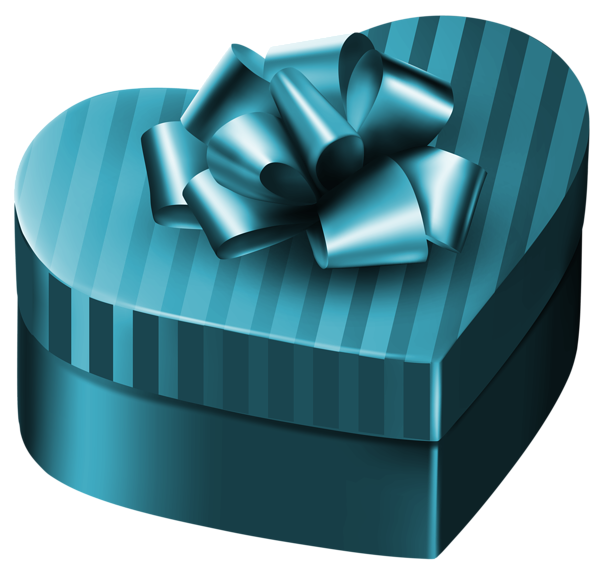 Luxury box png image. Gift clipart heart gift