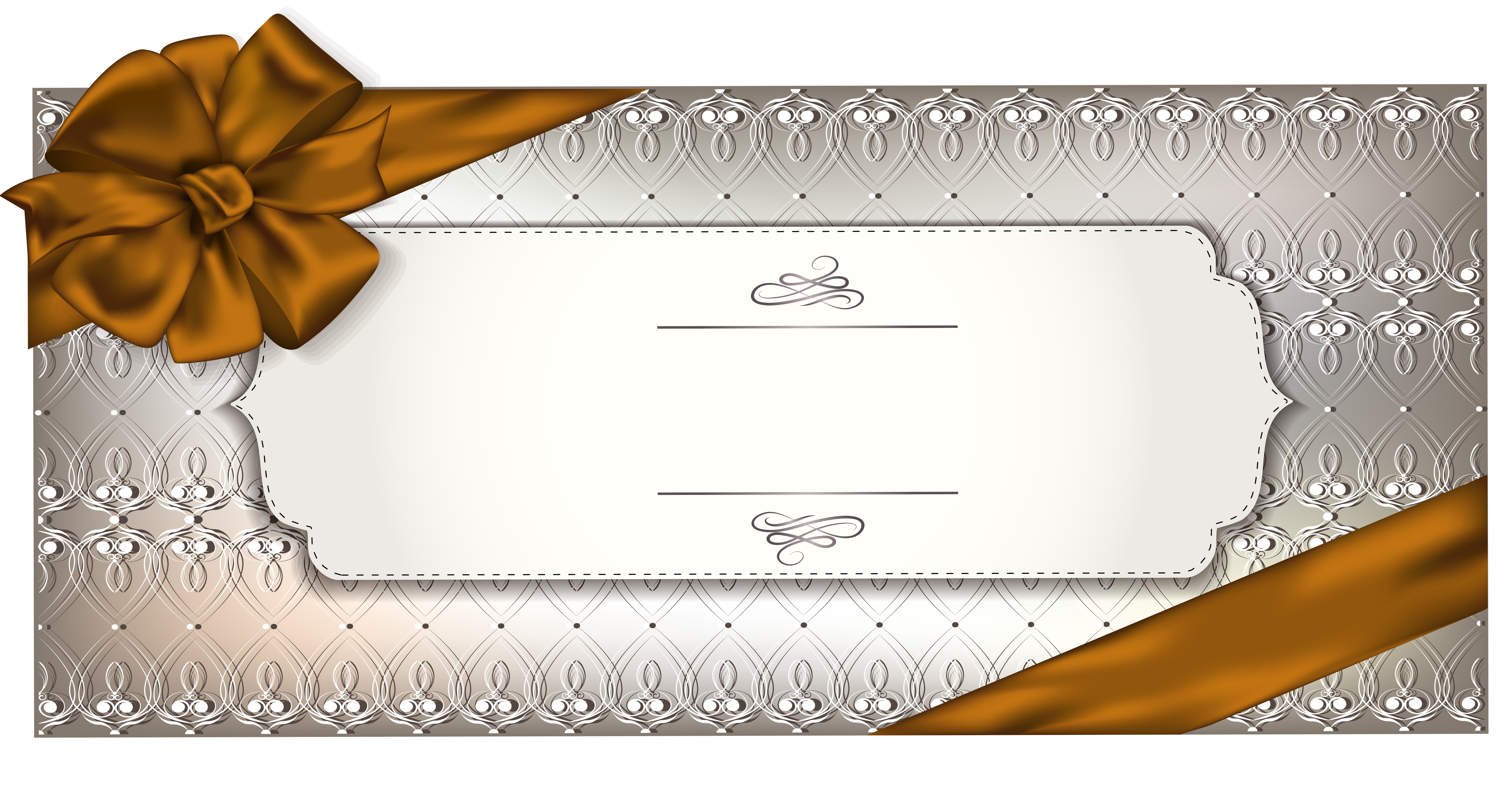 Card template png image. Gift clipart gift voucher