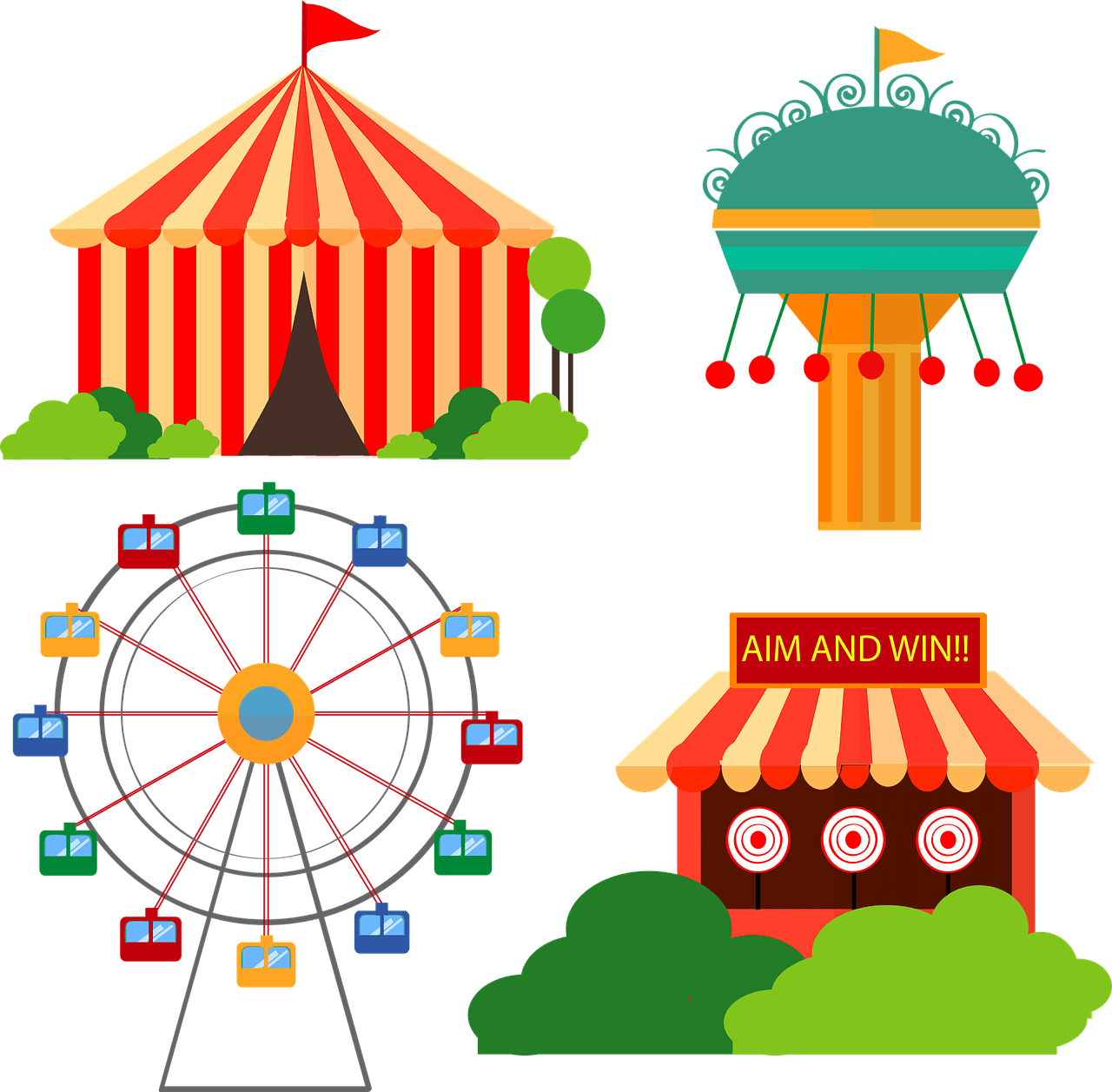Exclusive best things you. Fair clipart fairground